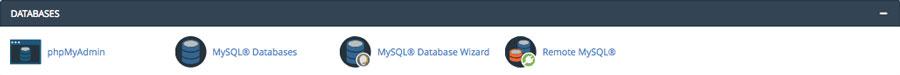 MySQL Datenbanken