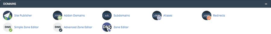 Domain DNS Zone Editor